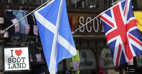 Průzkum vyvrátil fámy: Většina Skotů nechce ani po Brexitu opustit Velkou Británii