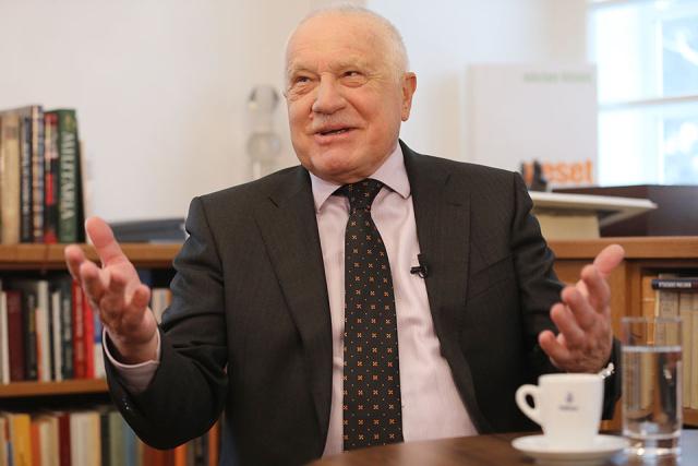 Václav Klaus se pro PL rozjel: Západní kavárny zahájily útok na Trumpa. Plot na českých hranicích by mi nevadil. Hloupý Rouček. A toto vám řeknu k Sorosovi