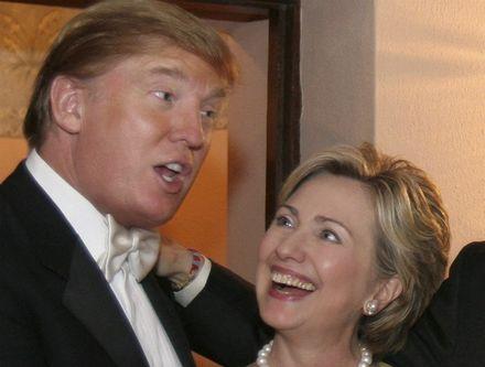 Donald Trump sbírá podporu odpůrců globalizace. Clintonovou dohání její loajalita zavedeným pořádkům. Foto thenewamericana.com
