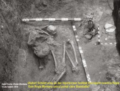 Je zajímavé, že v Rumunsku byly při vykopávkách na různých místech objeveny kostry obřích rozměrů, o kterých se na internetu dají najít záznamy. Rumunská televize uvedla již více pořadů na toto téma.