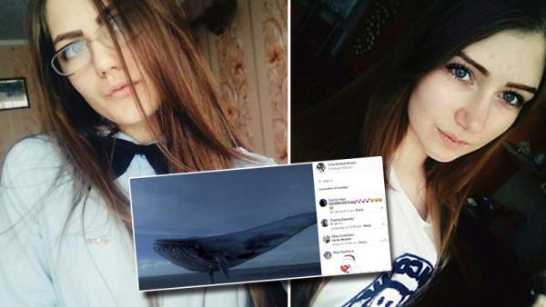 """Rusko řeší vážný problém! Hru s názvem """"Modrá velryba"""", která se šíří na sociálních sítích jako lavina. Jen za posledních 7 dní si dobrovolně vzaly život dvě mladé školačky. Další dívka se zranila .."""