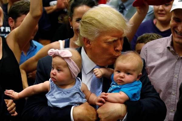 Donald Trumph | Clinton | votes | USA