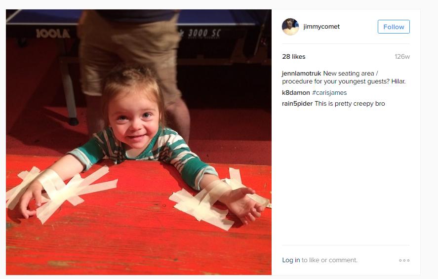 Samotný Alefatnis tak má napojení na velmi mocné osoby ve Washingtonu, o to více ale potom překvapí pohled na jeho účet na Instagramu.