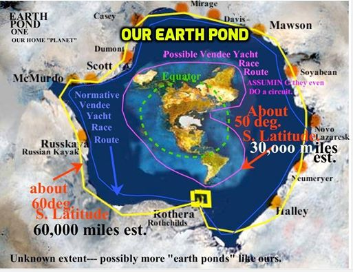 """náš """"Zemský Rybníček"""" náš limitovanej, vyhraničenej prostor, kterej známe v podobě disko koule"""