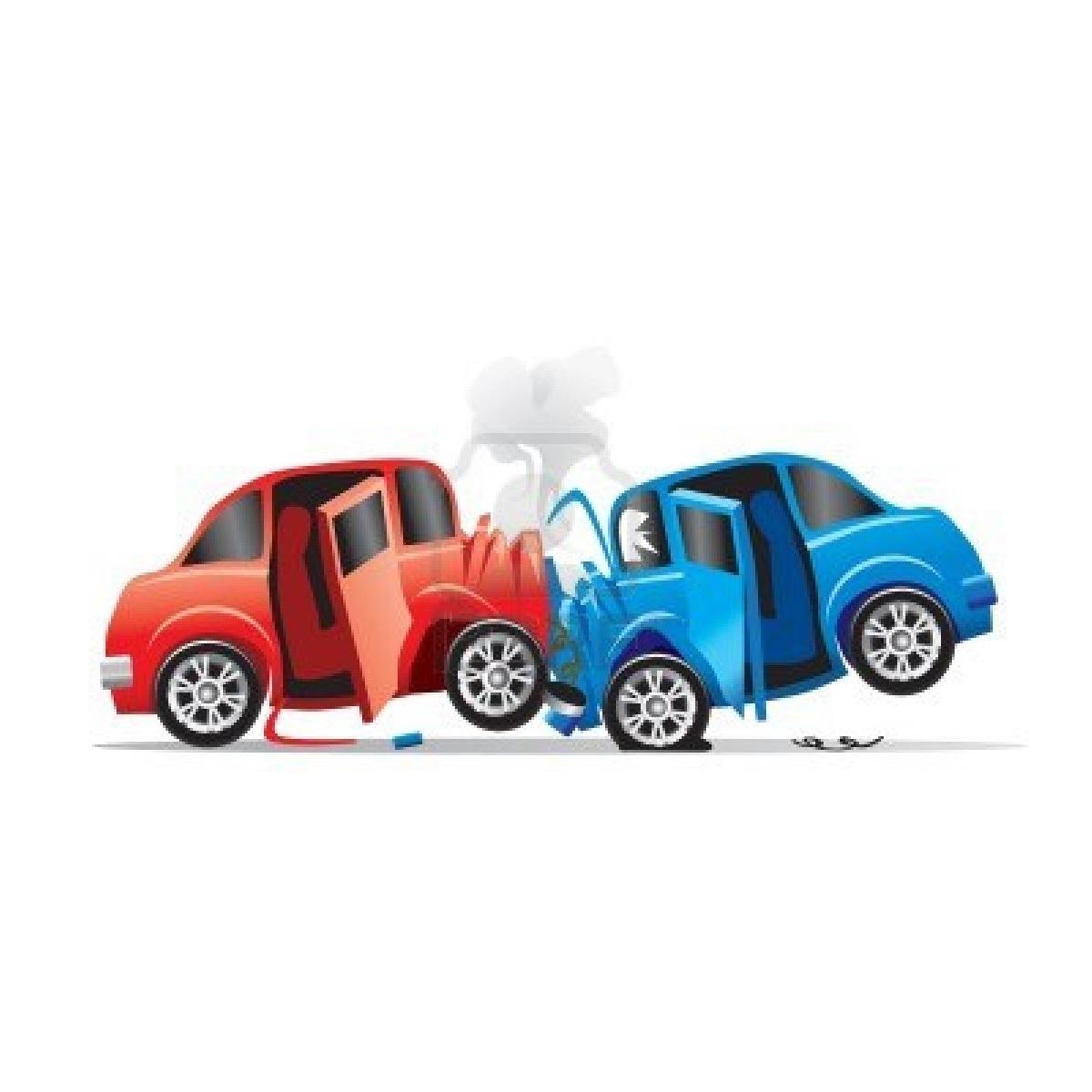 Dopravní nehoda - podanná ruka