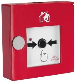 požární zabezpečení - tlačítko