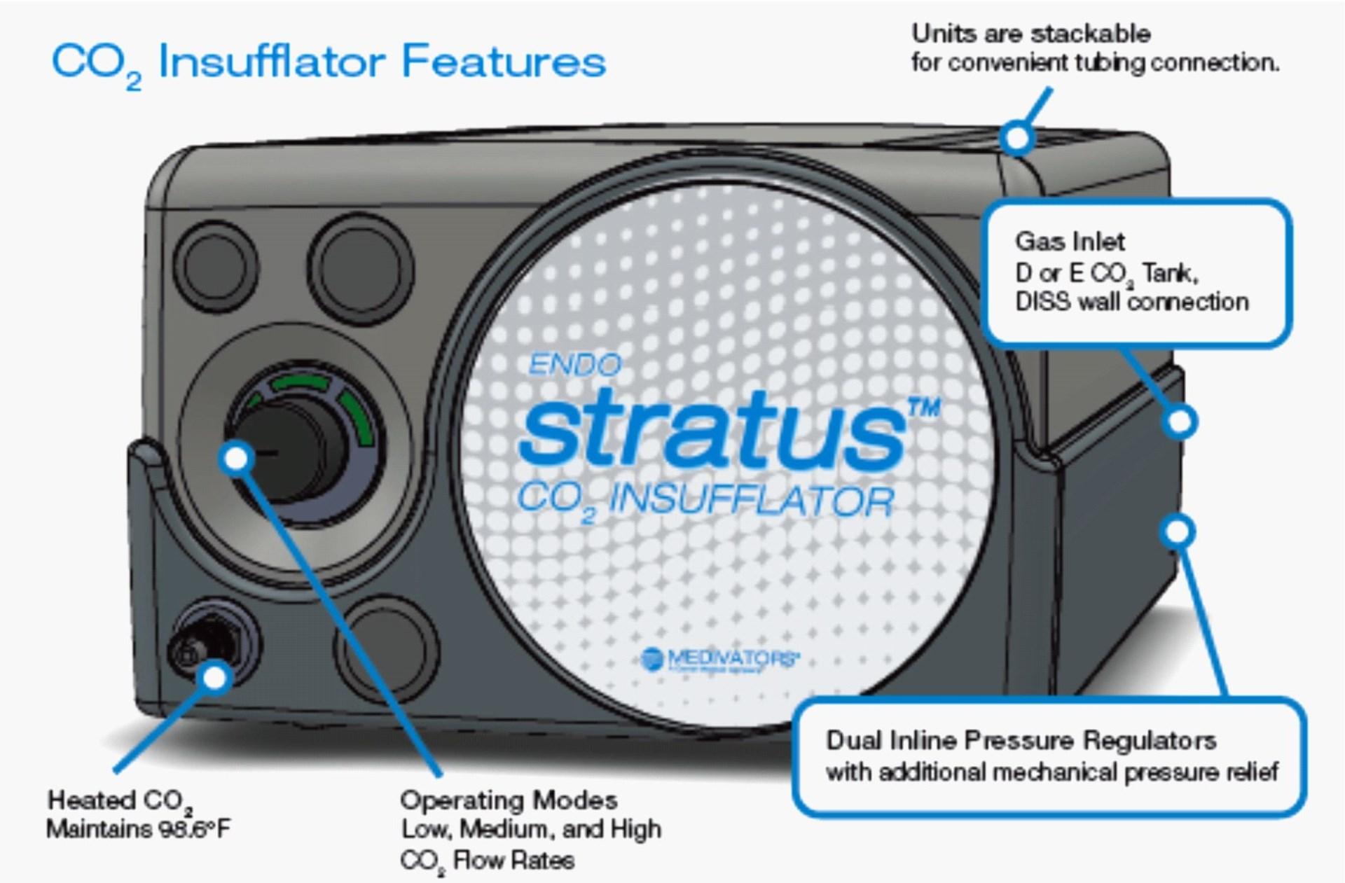 Insuflátor CO2 EndoStratus®