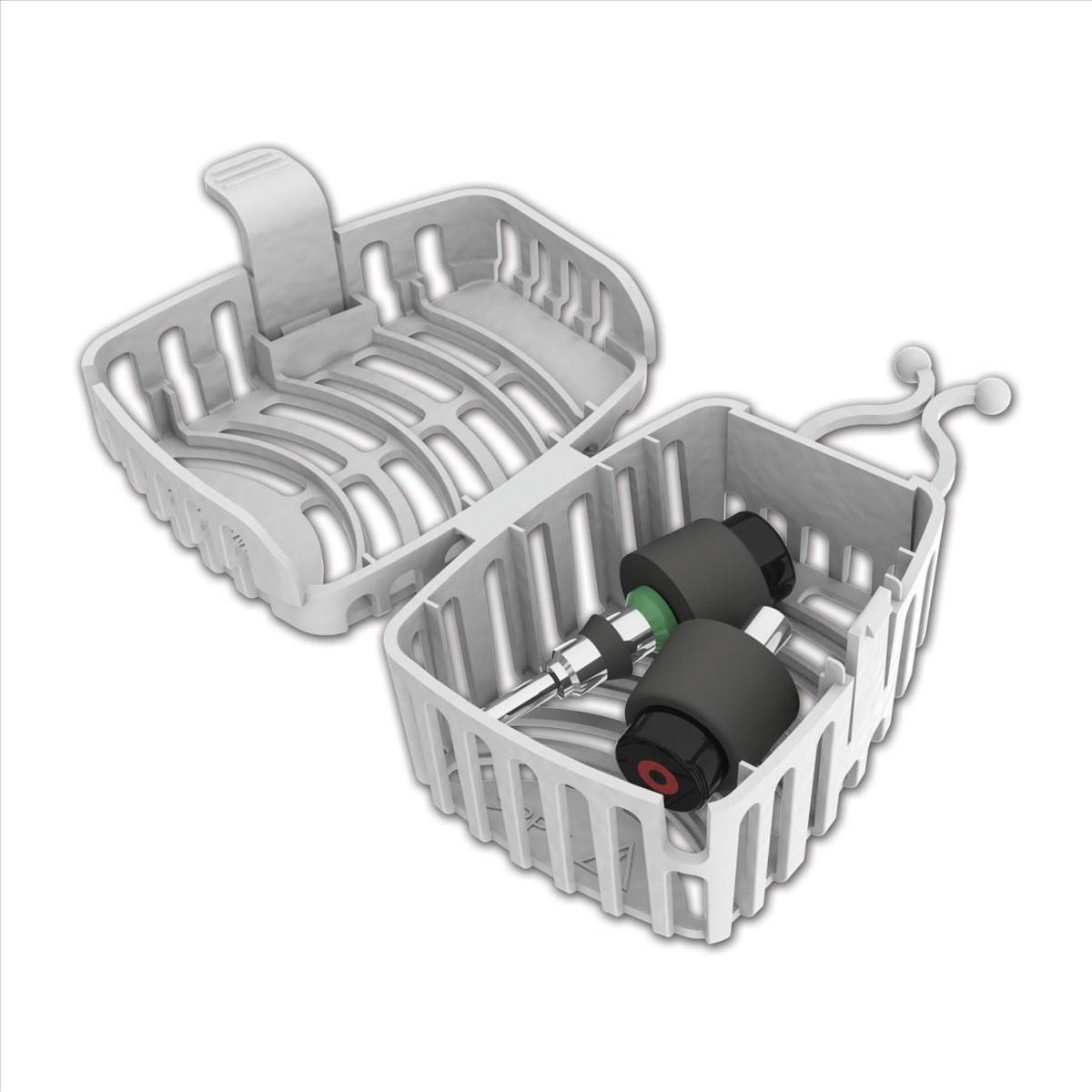 Jednorázový box na ventily