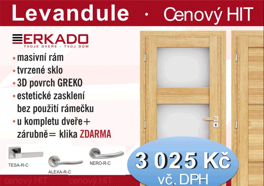 Levandule - dveře Erkado