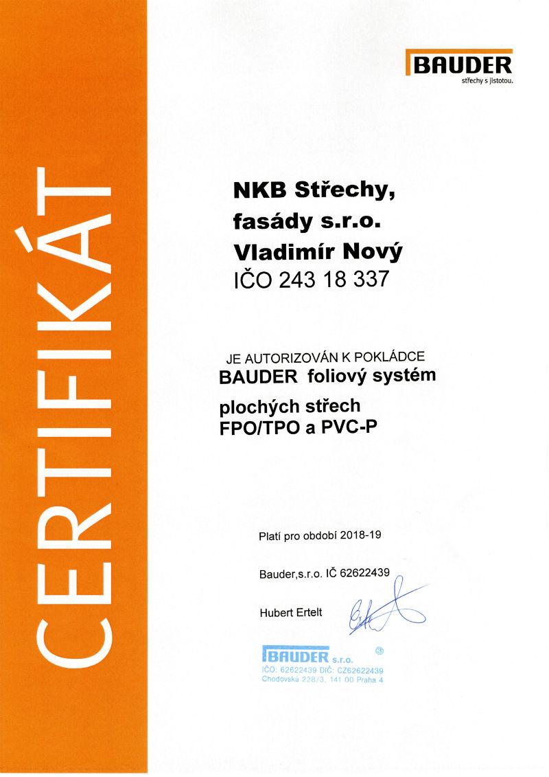 bauder - foliový systém