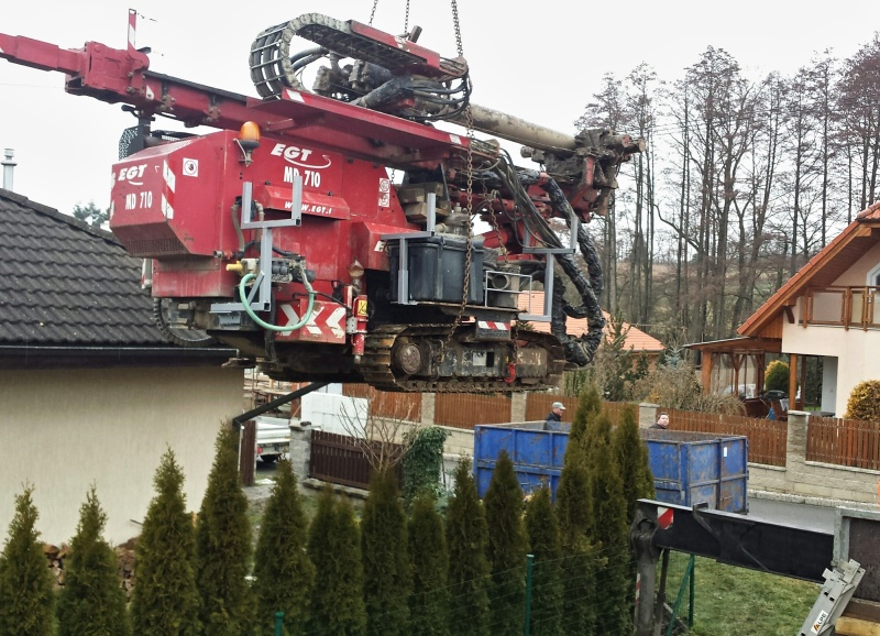 vrtaná studna TRIAL STAV Plzeň