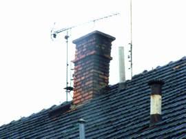 Přestavba komínu