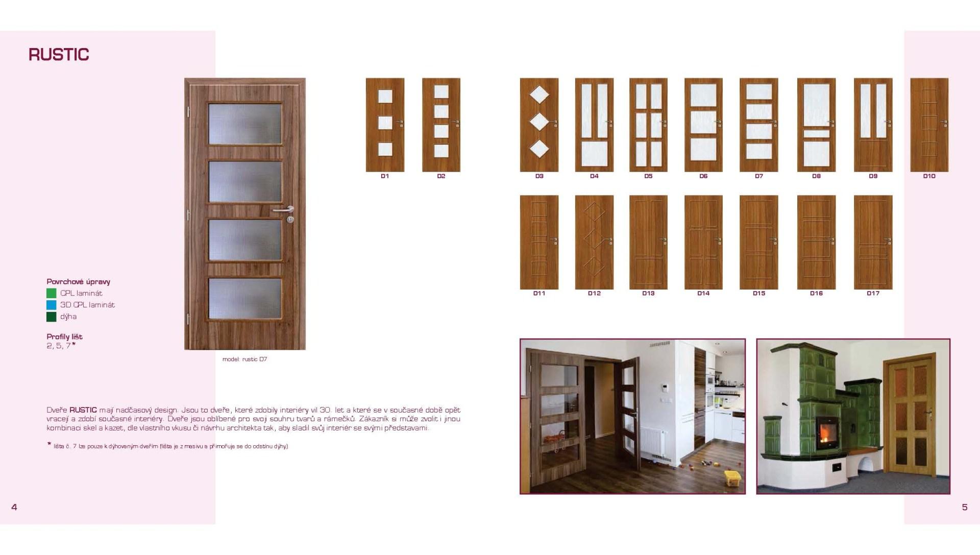Interiérové dveře Gerbich