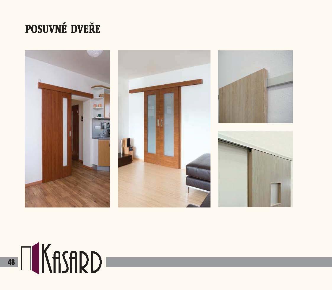 Posuvné dveře Kasard
