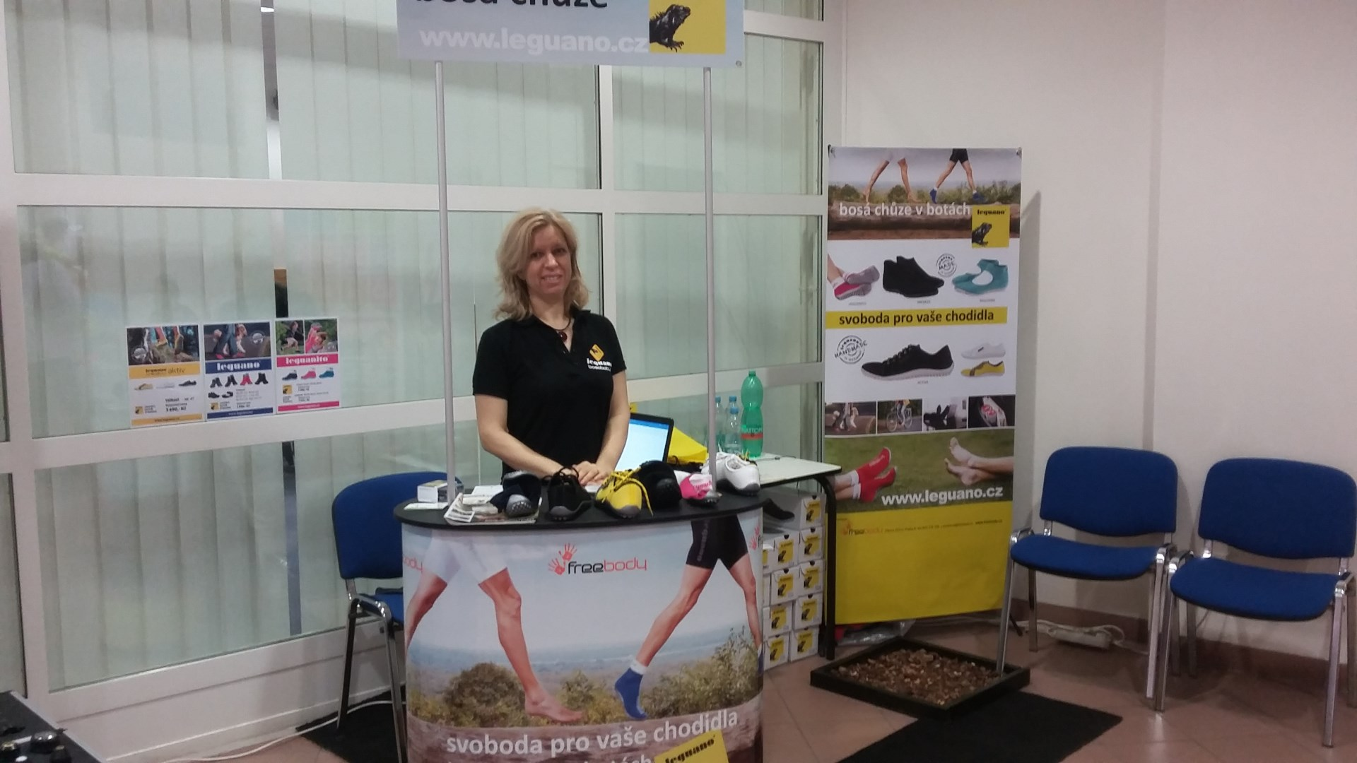 leguan - fyzioterapeut
