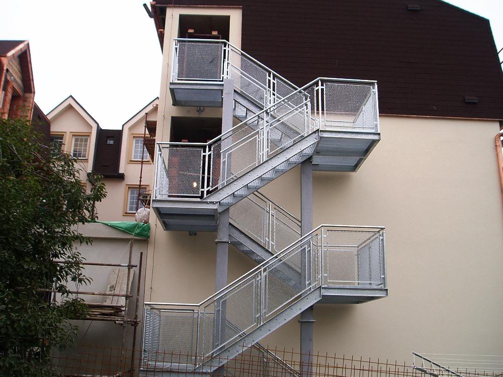 Svařované schodišťové stupně