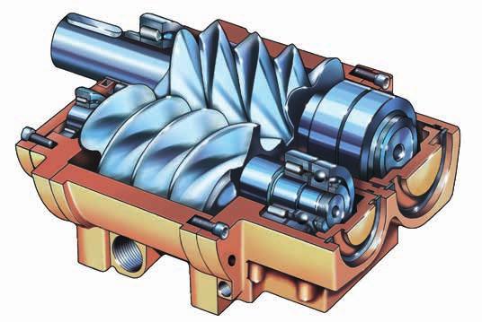šroubový kompresor