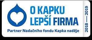Logo o kapku lepší firma