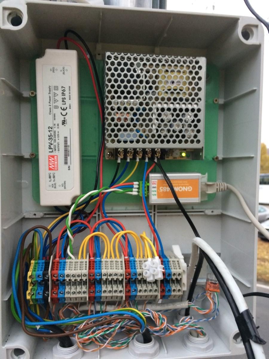 Elektrická rozvodová skříň