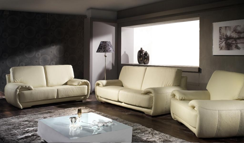Moderní kožená sedací souprava Eldorado