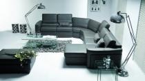 Moderní kožená sedací souprava Magnolia