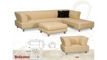 Rohová kožená sedací souprava Bolzano XL