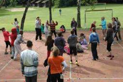 Letní tábor Kalich - Basketbalové hřiště