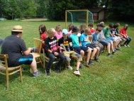hry na fotbalovém hřišti