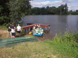 nalodění na loďku