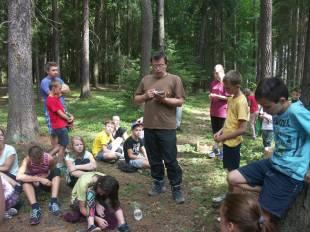 vysvětlování lesní hry