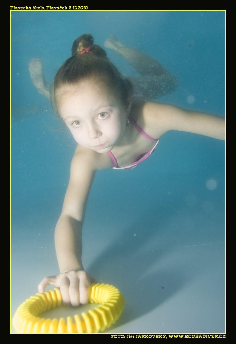 plavání dětí samostatně Vyšatová
