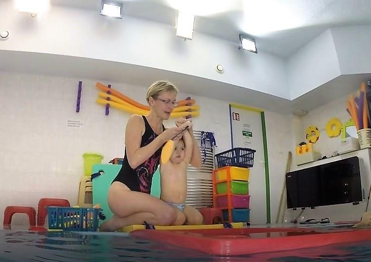 plavání dětí saostatně