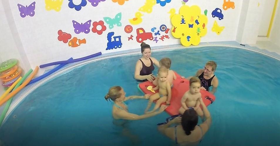 plavání mimin