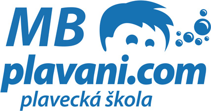 logo plavecká škola MB plavani.com