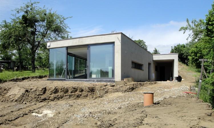 Dokončení stavby po vybudování 15m3 septiku