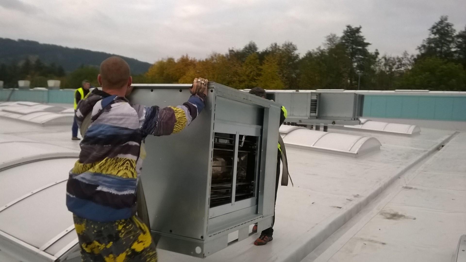 Stěhování Brno - stěhování klimatizace