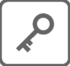 ikona klíč