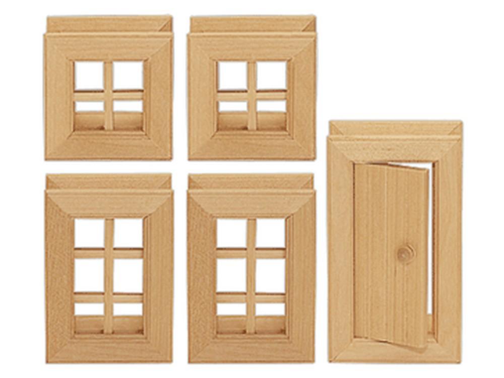 Okna a dveře 5 dílů