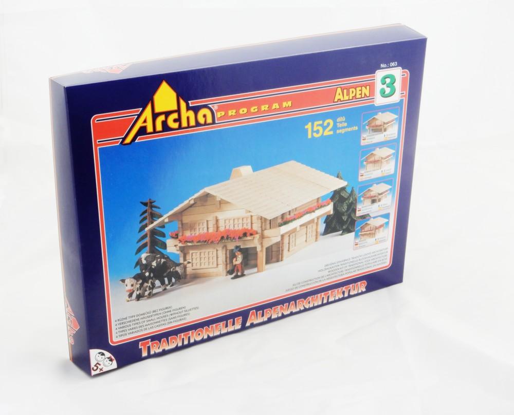 Alpská Archa 3 - balení