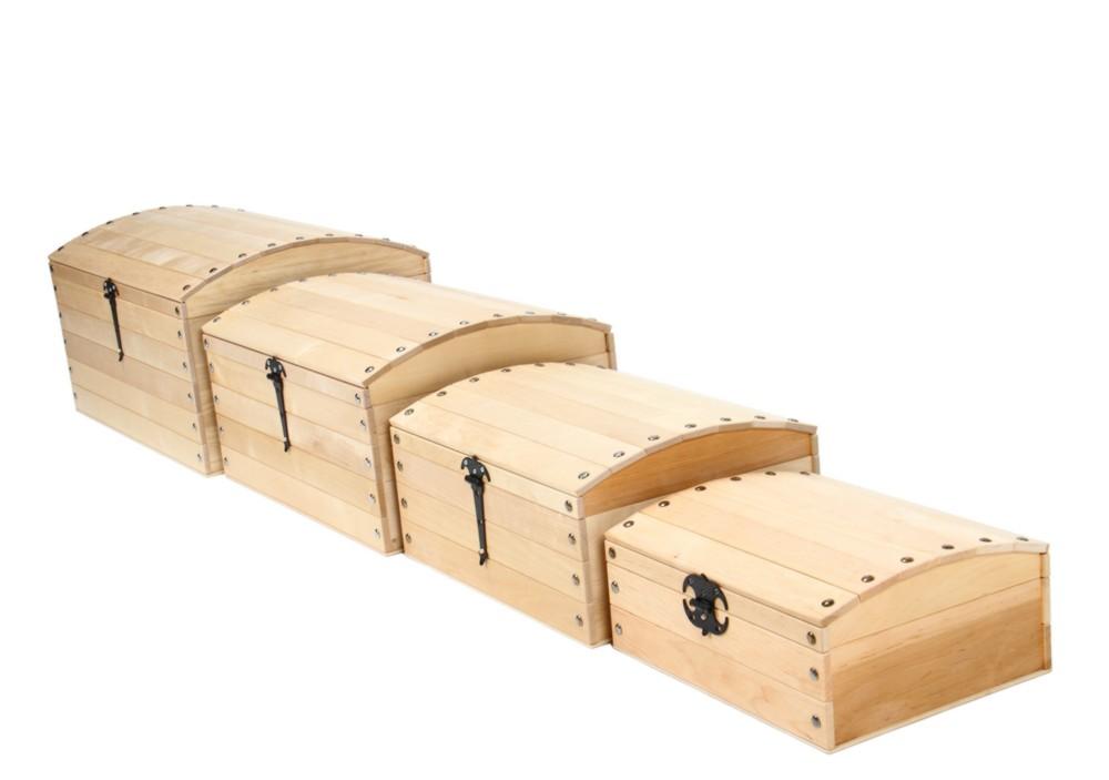 Varis dřevěné truhly zavřené