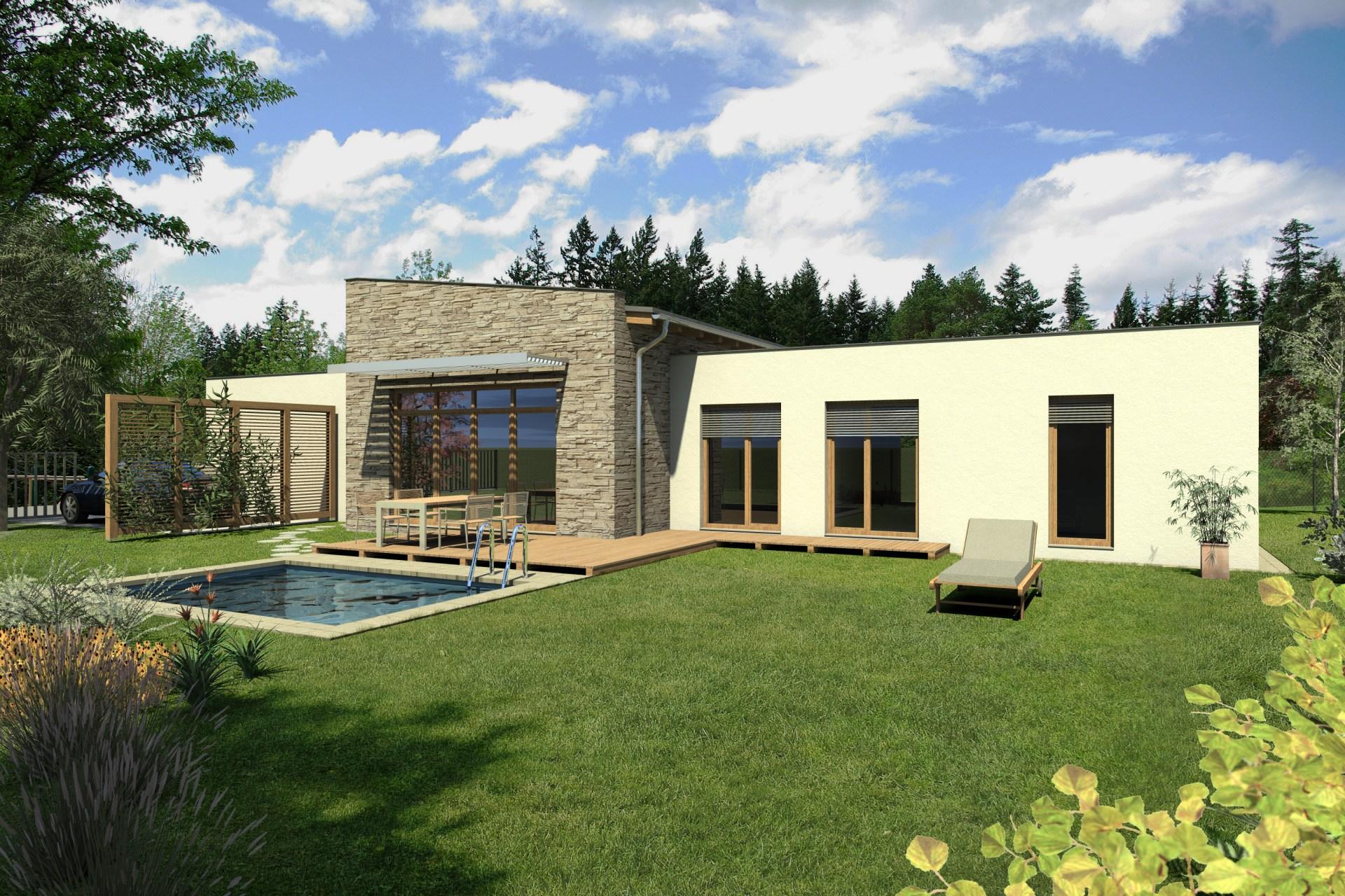 Přízemní dům B6