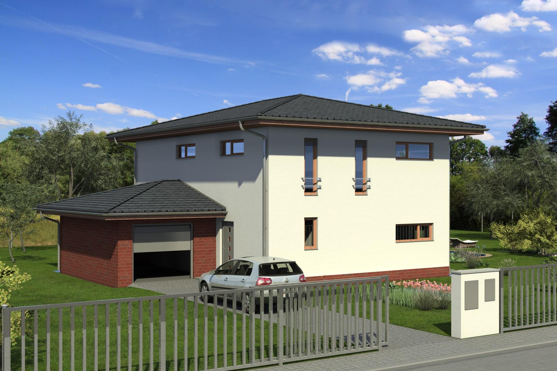 Patrový rodinný dům A1