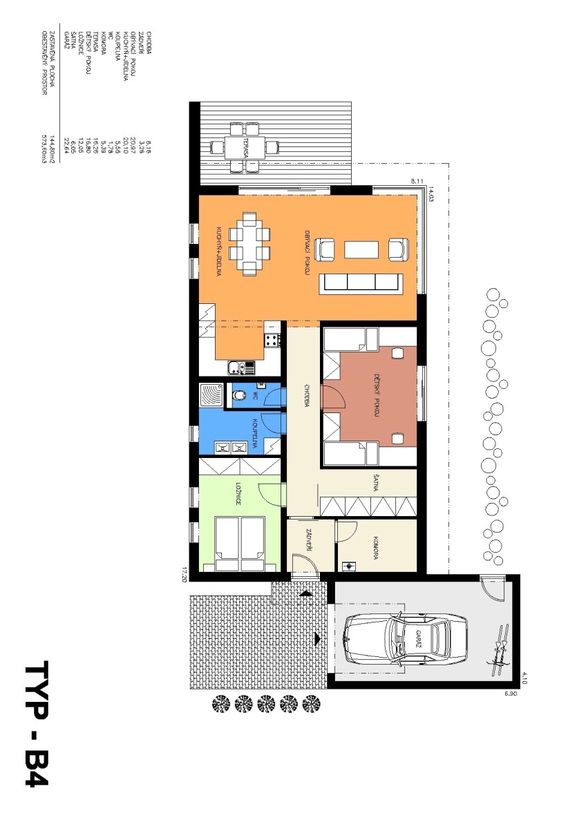 Rodinný dům B4