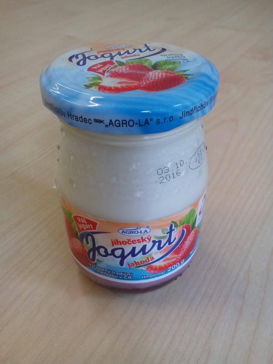 Jihočeský jogurt