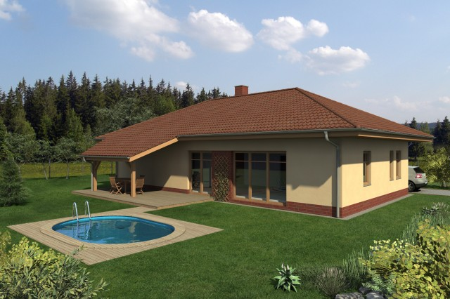 Přízemní dům B1