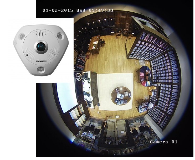 kamera rybí oko