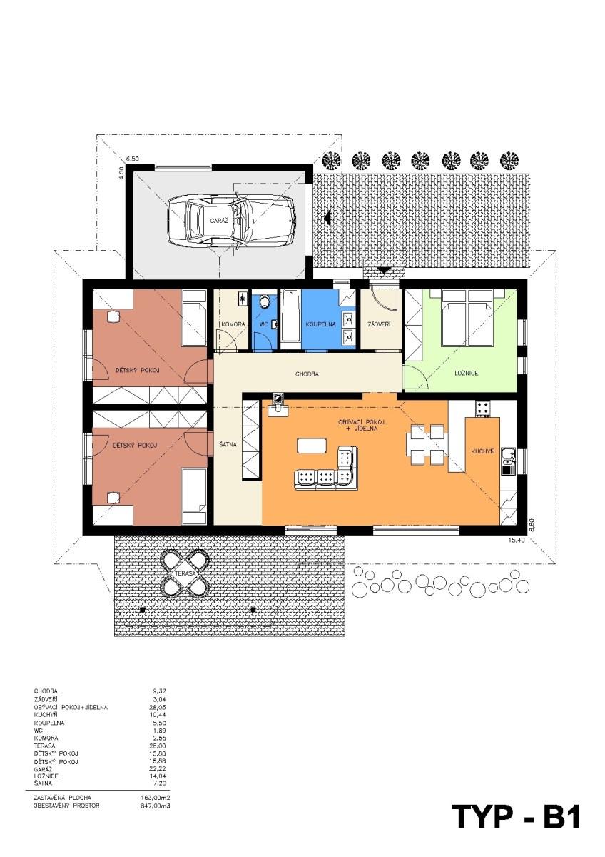 Rodinný dům B1