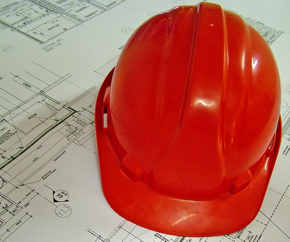 Stavebnická helma