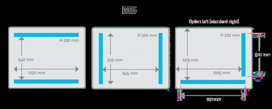 Komora hencovace M6