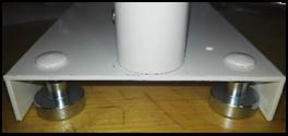 uchycení výčepu pro petky pomocí magnetů